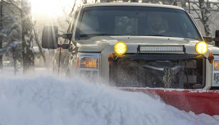 Snow Plowing Rockford Il